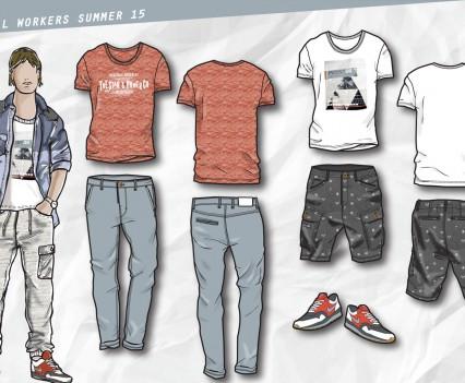 Free Work: Kids Fashion Design: Global Workers S15