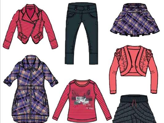 Girls Collection Fashion Design for NONO