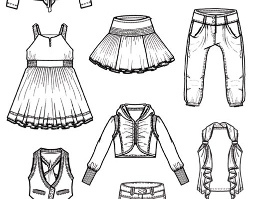 Girls Collection Fashion Design for NONO