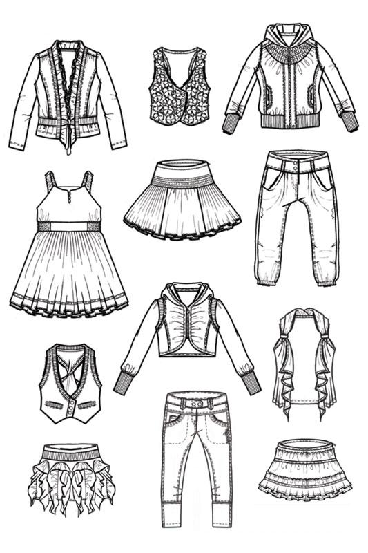 Fashion Design For Nono Girls Collection