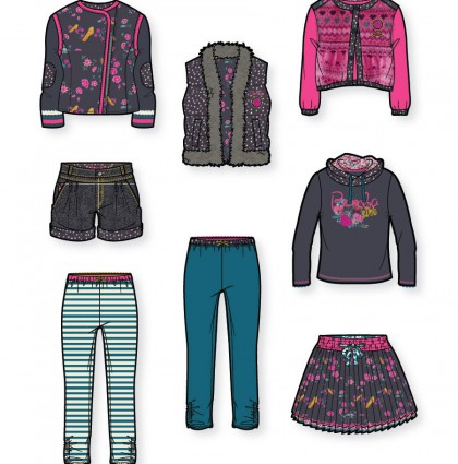 Kids Fashion Design for Bomba