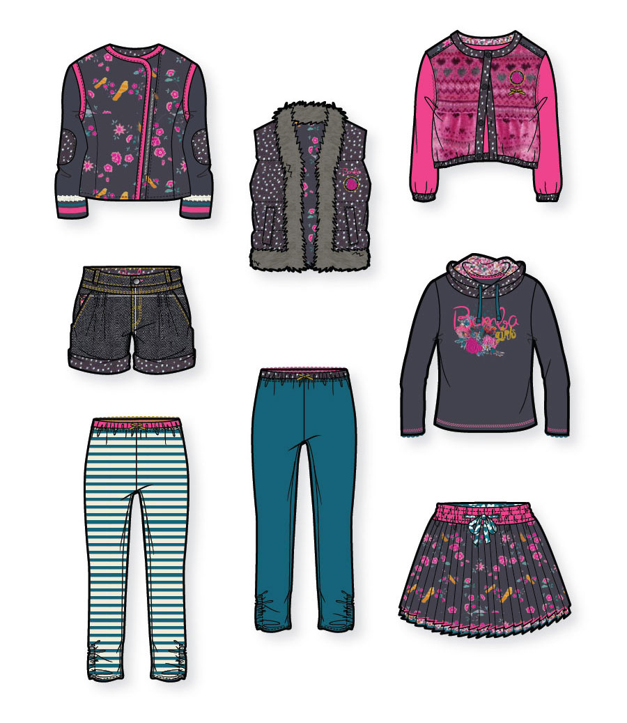 Kids Fashion Design For Bomba