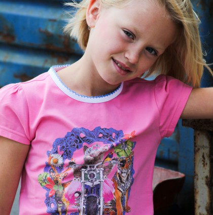 Girls Kids Fashion Design for Dutch Heroes Summer 2016