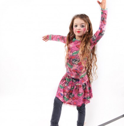 Kids Fashion Design for Dutch Heroes Winter 2016