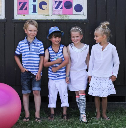 Boys Collection Fashion Design for Ziezoo Summer 2016
